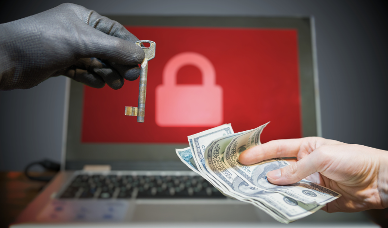 Ransomware Attack Damages System